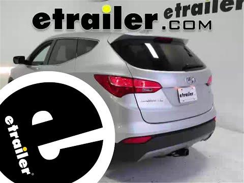 Trailer Hitch Installation - 2015 Hyundai Santa Fe - Draw-Tite - Etrailer.com