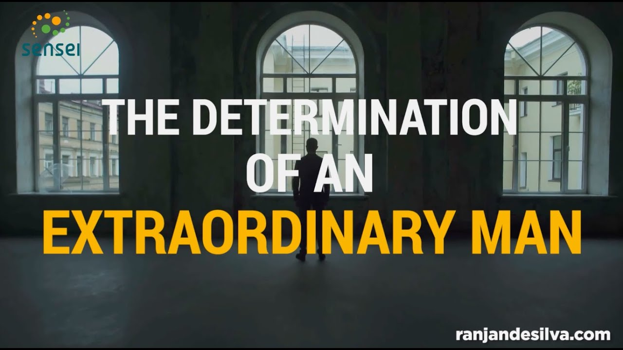 The determination of an extra-ordinary man! - A poem for You!