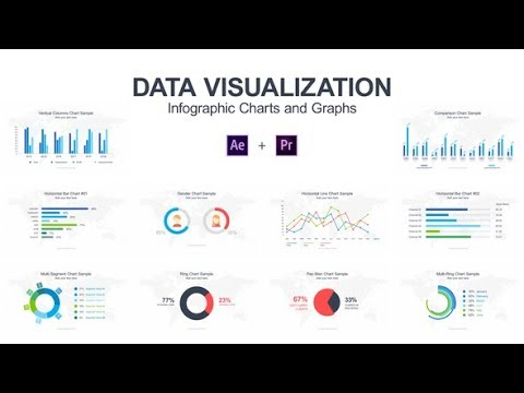 After Effects Template : Data Visualization - Infographic Charts and Graphs