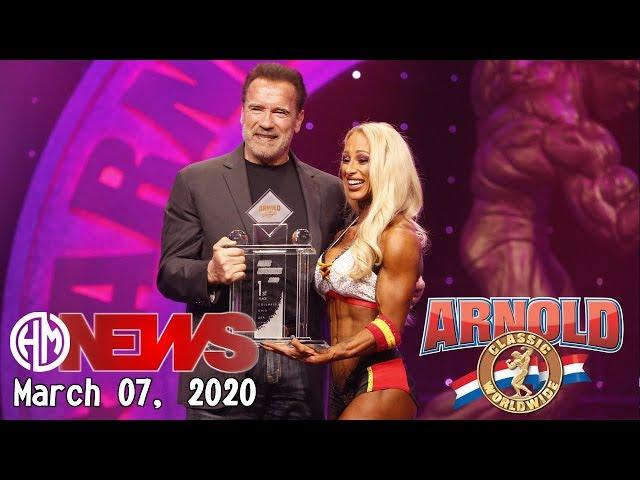 2020 Arnold Sports Festival, Ms. Fitness International - Missy Truscot, Posing Routine.