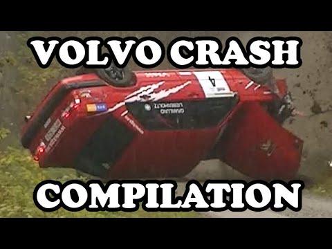 Volvo Rally Crash Compilation