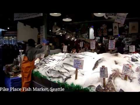 Pike Place Fish Market, Seattle (December 2016)