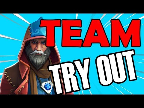 🔴 PRO XBOX PLAYER (Pun Team TRY OUT) Fortnite Live Stream Xbox one