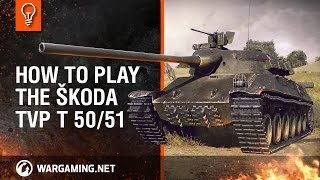 World of Tanks PC - Tank Guides - Guide to the Škoda TVP T 50 51