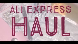 HUGE Ali Express Nail Supply Haul
