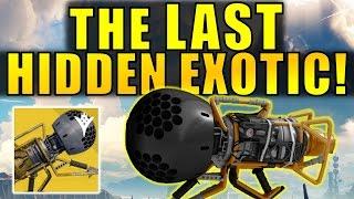 Destiny: The LAST HIDDEN EXOTIC! | Dubious Volley Exotic Rocket Launcher