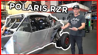 homepage tile video photo for Jerry Zaiden REACTS to NEW CD-7 DASH in POLARIS RZR