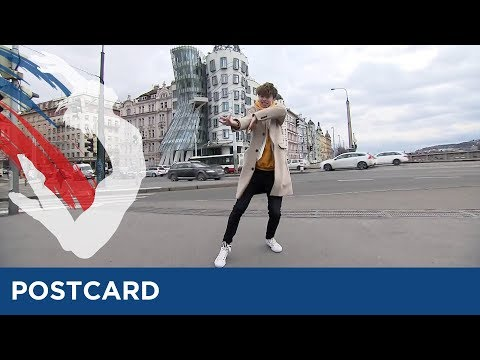 Postcard Of Christoffer Collins From Sweden - Eurovision Young Dancers 2017