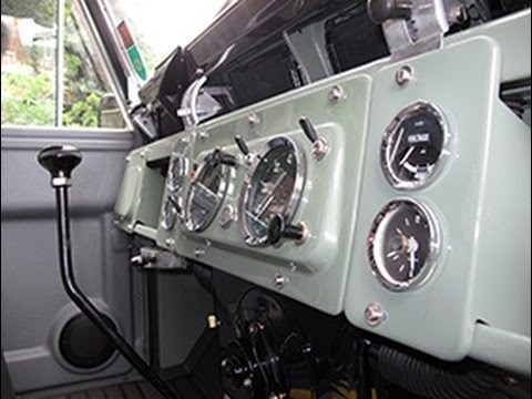 Restoration of a Series IIA Land Rover