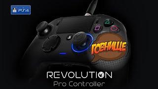 nacon Pro Revolution Pro Controller PS4 распаковка обзор мнение