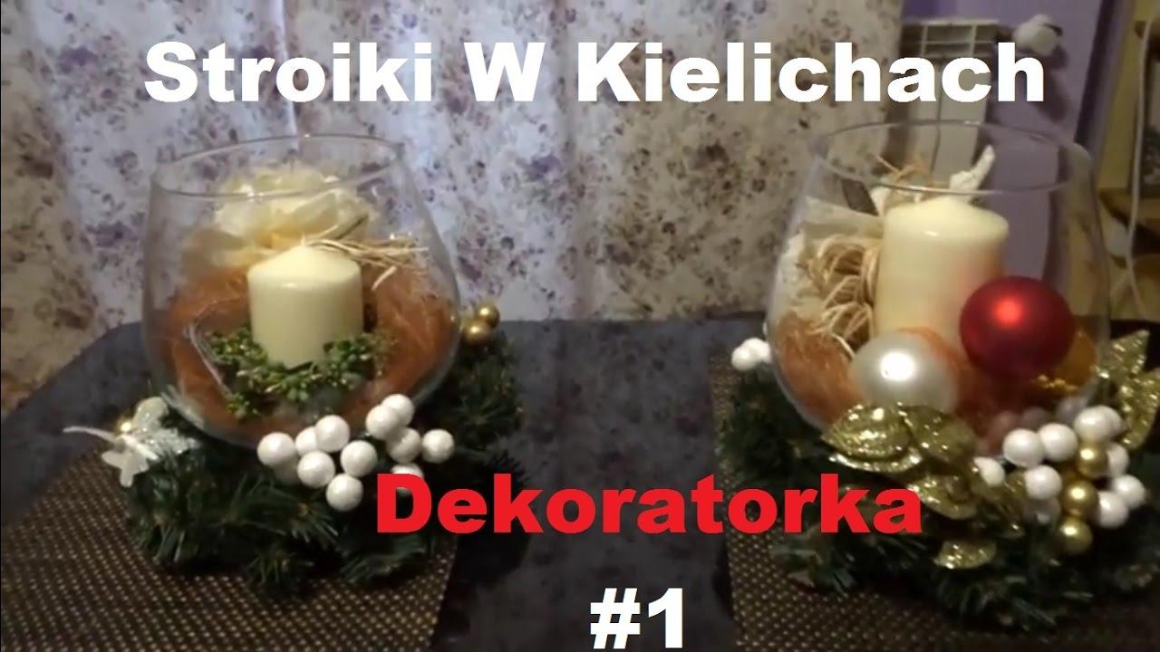Stroiki W Kielichach I Ceny Ozdób