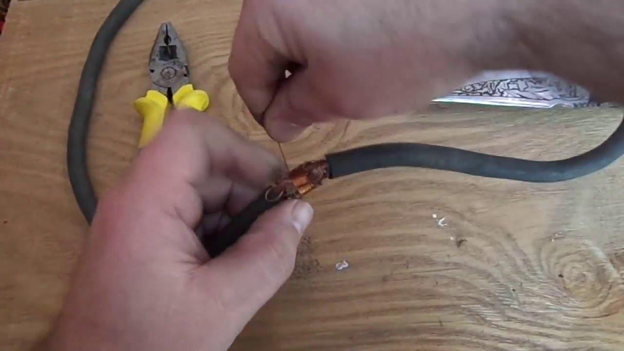 Соединить кабель для сварочного аппарата оборудование на сварочный аппарат