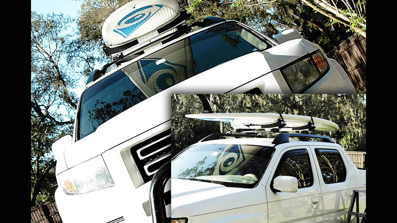 Paddle Board Roof Rack Review THULE SUP TAXI - YouTube