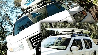 Paddle Board Roof Rack Review THULE SUP TAXI