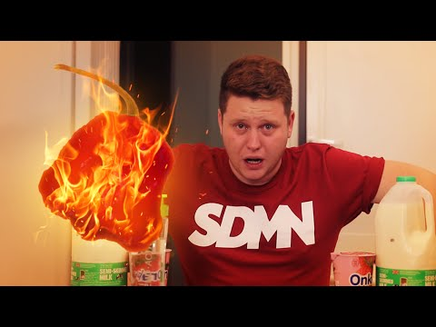THE WORLD'S HOTTEST CHILLI CHALLENGE!
