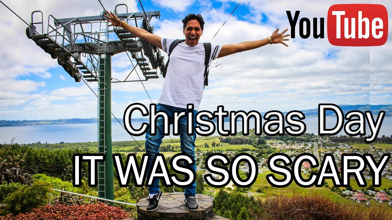 CHRISTMAS DAY , IT WAS SO SCARY ( New Zealand experience with Navee ( CANON 700D ) - YouTube