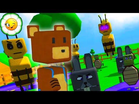Приключения Супер Медведя #1   Найди всех мишек, чтобы расколдовать королевство Пчелы!