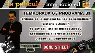 DE PELICULA - programa de TV de Cine - Liga de la justicia / Asesinato en el expreso de oriente