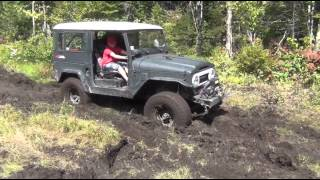 Wheelin' With The FJ40 - Sucker Pond Meet Up, And Rescue.