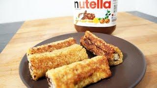 Recette Des Toast Roll Au Nutella  Fastgoodcuisine