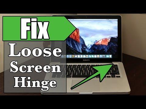 How to Fix Loose Macbook Pro Screen Hinge