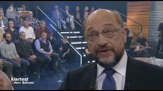 Klartext Herr Schulz! Ganze Sendung vom 12. 09. 2017