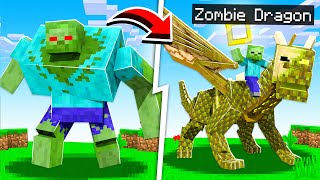 Morphing MOBS into DRAGONS in Minecraft!