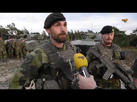 """Förbandschefen: """"Vi kommer försvara Gotland"""""""