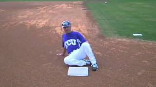 How To Slide Feet First -- Coach Mazey Baseball Tips
