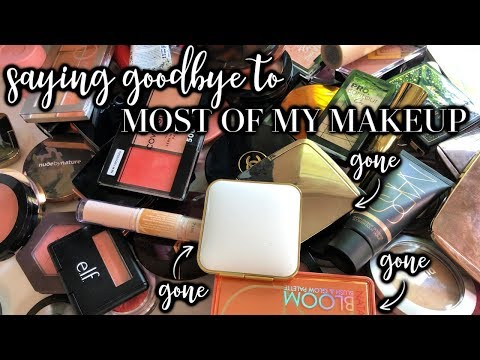 GOODBYE, huge makeup collection. HELLO, curated collection of faves thumbnail