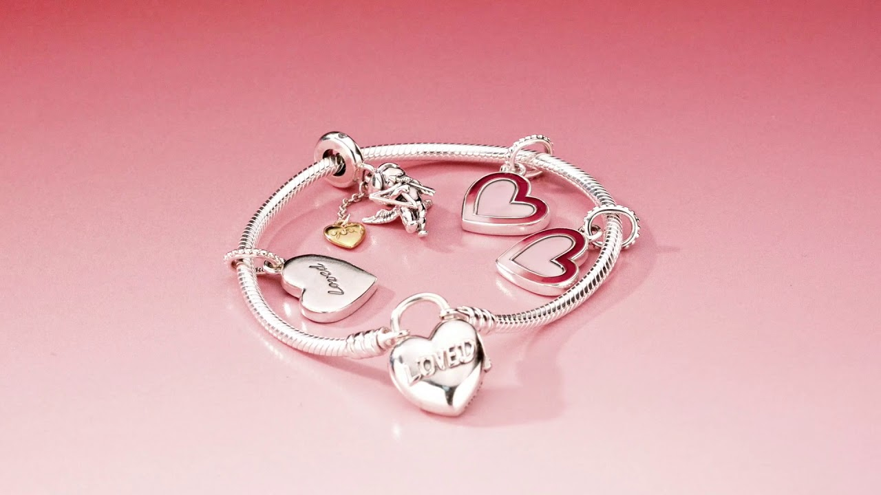 790c9387b Send a message of love with the beautiful new Pandora Valentine's Day  collection.