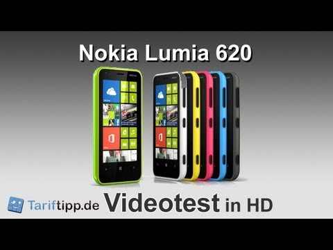 Nokia Lumia 620 | Test in HD (deutsch)