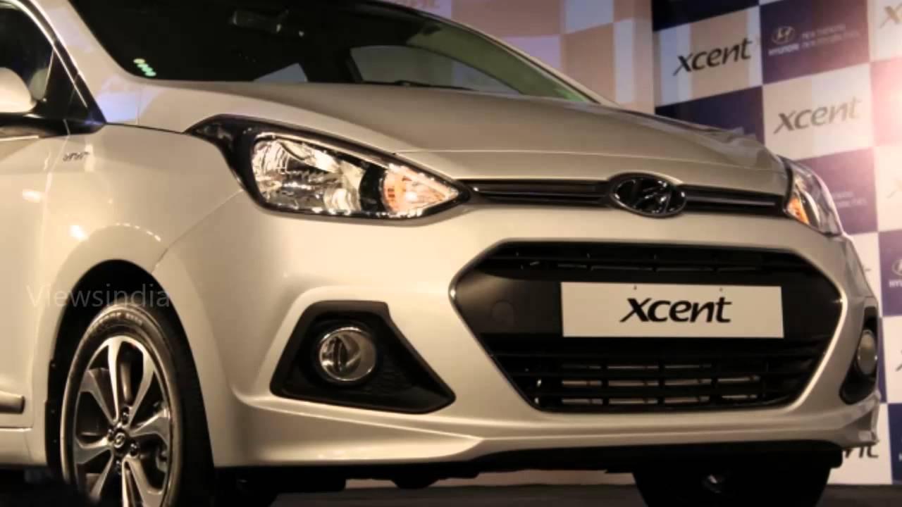 Hyundai Xcent Grand i10 sedan full view - YouTube