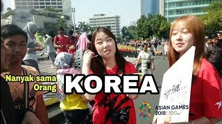 Gambar cover KOREA!! INILAH REAKSI CEWEK KOREA SAAT DI TANYAKAN ASIAN GAMES 2018