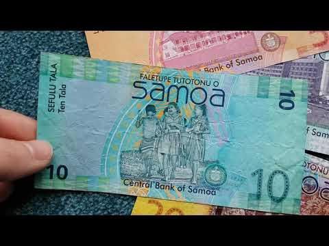 #Currency Special: Samoa Tala 🇼🇸