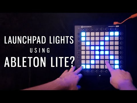 How To Make Launchpad Light Effects In Ableton Lite