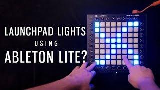 Як зробити світлові ефекти на Launchpad в Ableton Lite в