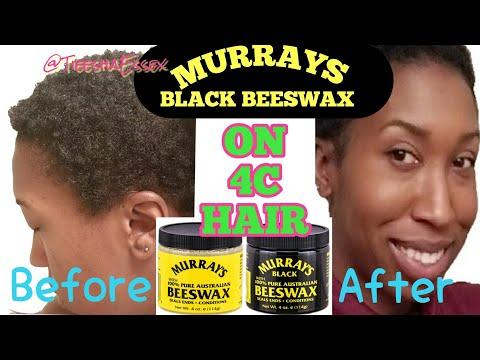 MURRAYS BEESWAX + GREENHOUSE EFFECT METHOD FOR MOISTURE | 4C HAIR