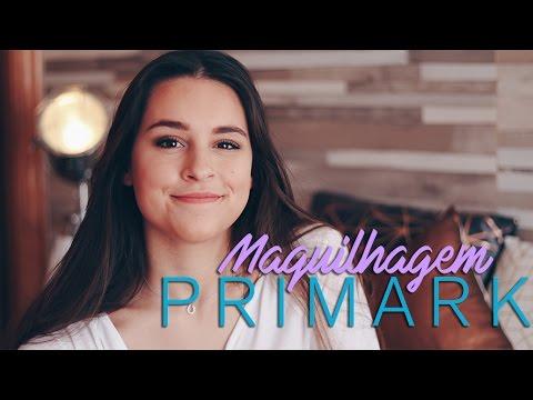 MAQUILHAGEM COM PRODUTOS DA PRIMARK | Adriana & Ilda