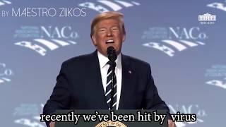 Tổng Thống Donald Trump Cover bài hát Ghen Cô Vy  - Cực Hot