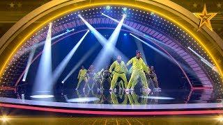 ¡PASE de ORO! DAREPUBLIK revienta el escenario BAILANDO | Semifinal 4 | Got Talent España 5 (2019)