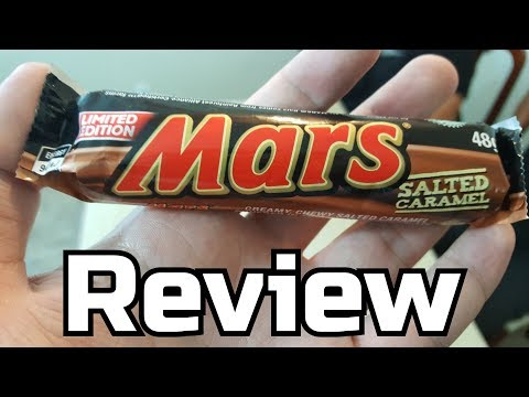 Mars Salted Caramel Review (Limited Edition) - Wreckless Eating