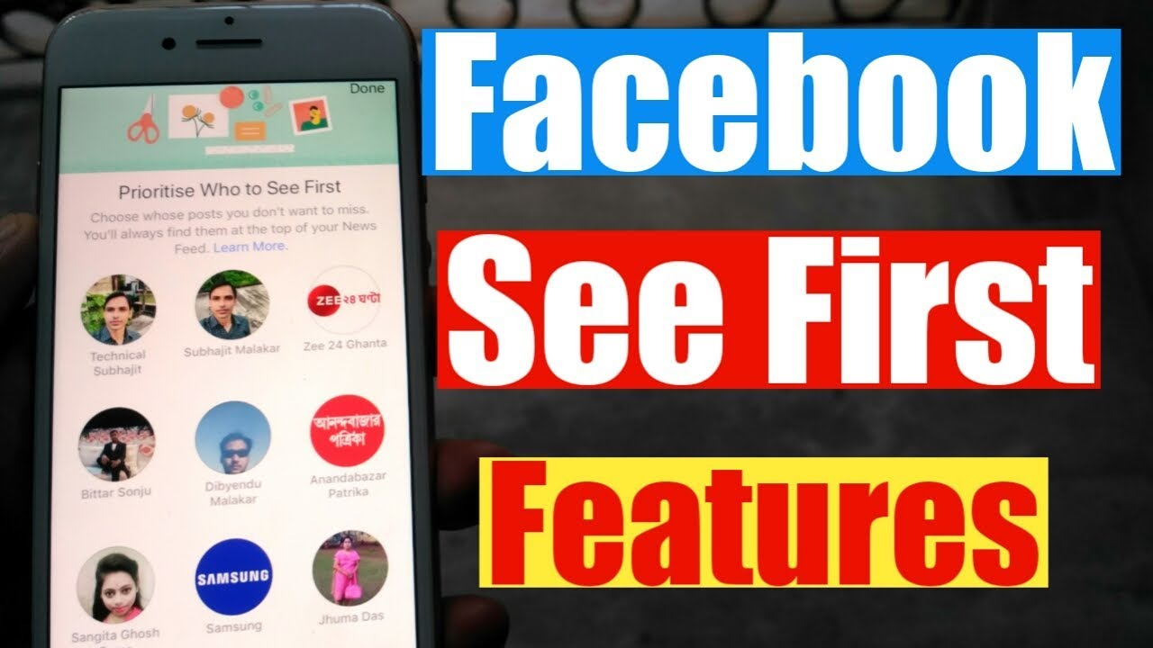 Facebook See First Features | Activate See First Features On Facebook | Facebook New Update