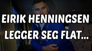 Viking FKdirektør Eirik Henningsen legger seg flat!