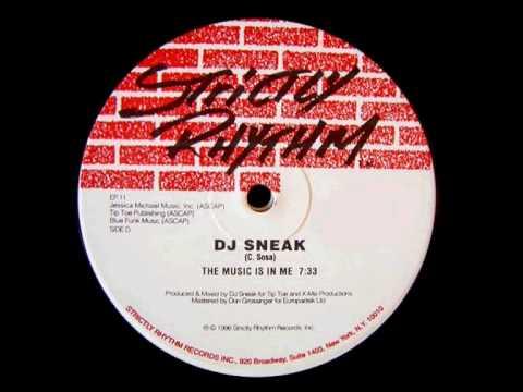 DJ Sneak - The Music Is In Me