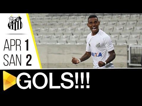 Atlético-PR 1 x 2 Santos | GOLS | Brasileiro de Aspirantes (24/10/17)