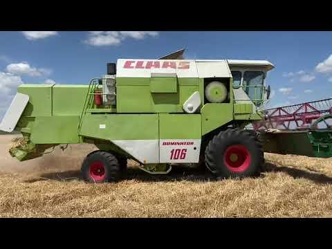 Download Claas Dominator 106 Árpa aratás 2021