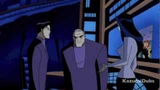 [KazDub] Batman Beyond FANDUB Talia Al Ghul and Bruce Wayne Scene