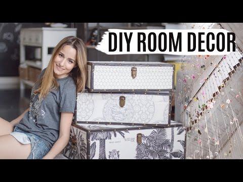 DIY ROOM DECOR + INSPIRACIÓN | Decoración de diseño low cost