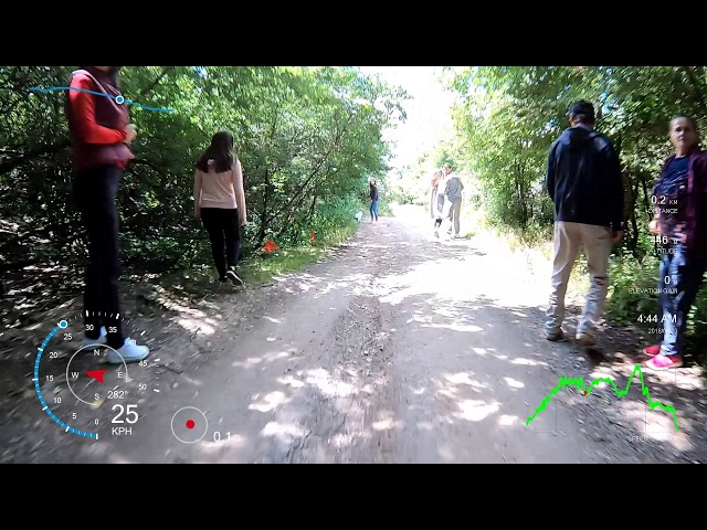 Aventuri pe bicicleta : Releu - Cetate Siria - test